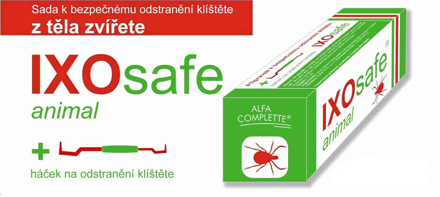 Ixosafe animal