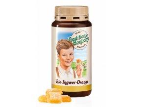 Sanct Bernhard Bio Zázvorovo-pomerančové bonbóny 170 g
