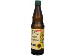 Rinatura Bio Olej slunečnicový lisovaný za studena 500 ml