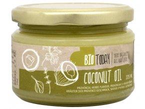 Bio Today BIO Kokosový olej s provensálskými bylinami 225 ml