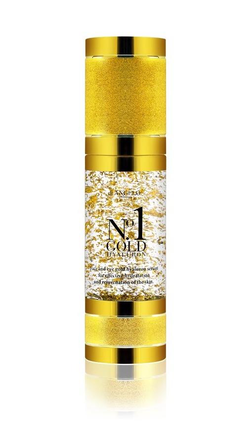 DiAngelo Cosmetics No.1 Gold Hyaluron - Omlazující sérum 30 ml