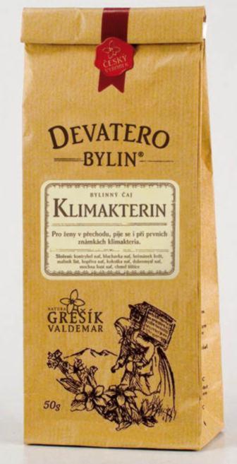 Grešík Klimakterin čaj sypaný 50 g Devatero bylin