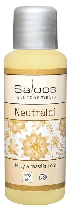 Saloos Bio Neutrální - tělový a masážní olej 50ml