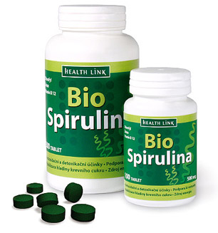 Health Link Bio Spirulina 500mg 100 tbl.