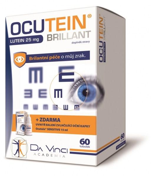 Simply You Ocutein Brillant Lutein 25 mg 60 tob.+ Ocutein® Sensitive zvlhčující oční kapky