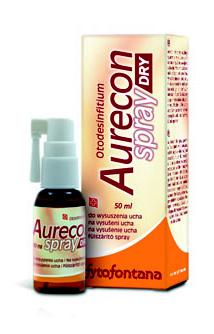 Herb Pharma Aurecon dry spray na vysušení ucha 50 ml