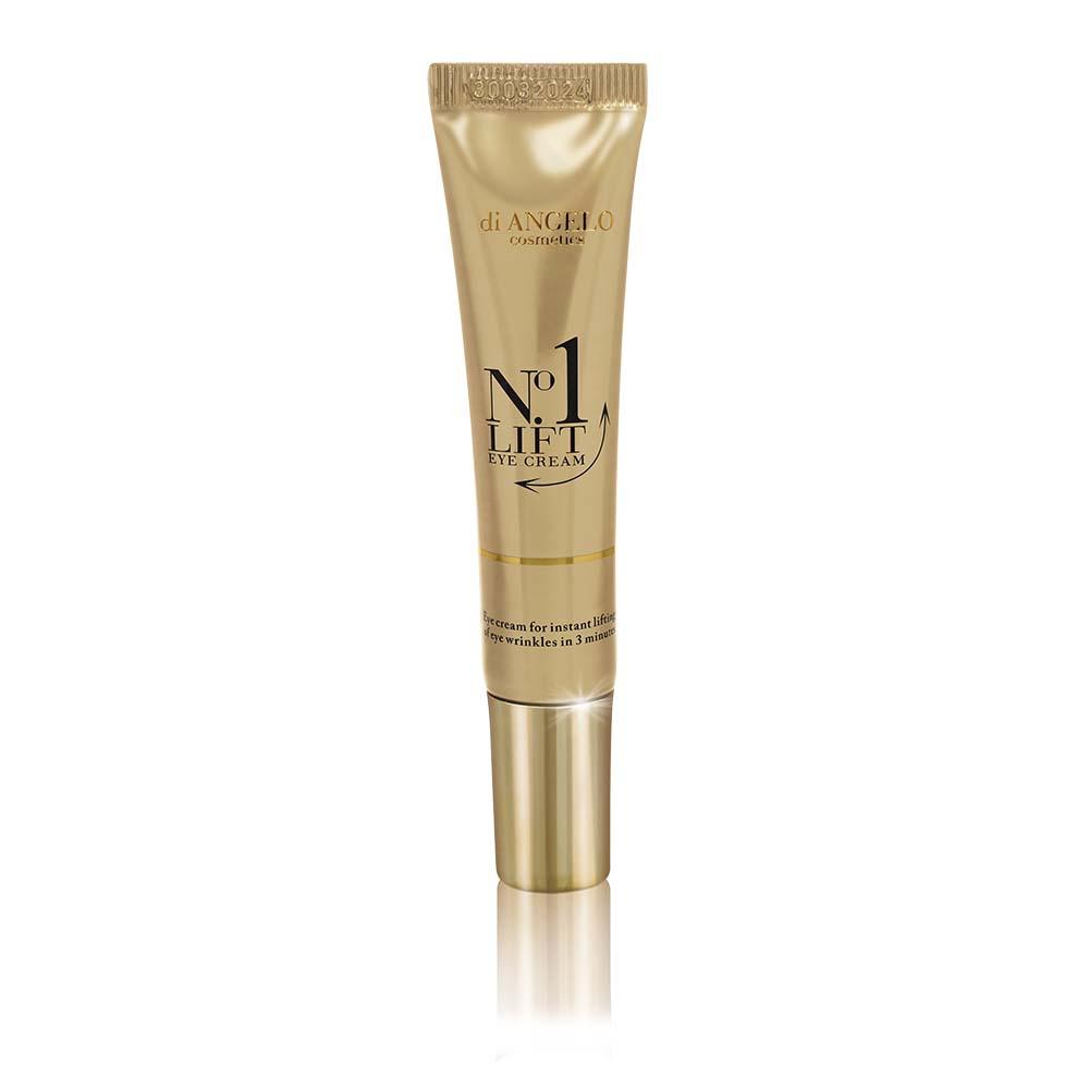 DiAngelo Cosmetics No.1 Lift - Revoluční oční krém s okamžitým efektem vypnutí vrásek 15 ml