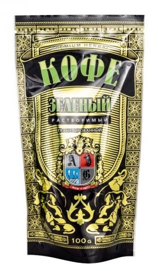 AG Company Zelená káva rozpustná (granule) 100 g