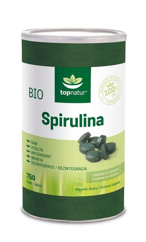 Topnatur Bio Spirulina 750 tbl.