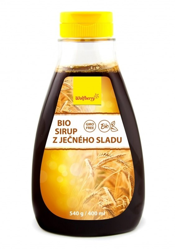 Wolfberry Bio Sirup z ječného sladu 540 g