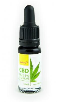 Wolfberry Konopný olej 5% CBD 10 ml