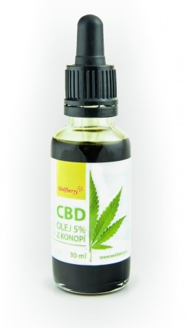 Wolfberry Konopný olej 5% CBD 30 ml