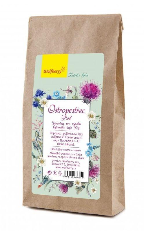Wolfberry Ostropestřec plod bylinný čaj 50 g